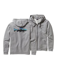Patagonia Mens Fitz Roy Trout Full-Zip Hooded Sweatshirt
