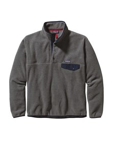 Patagonia Mens Lightweight Synch Snap-T Fleece Pullover