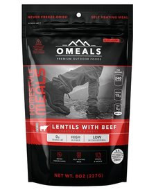 Omeals Lenitls with Beef
