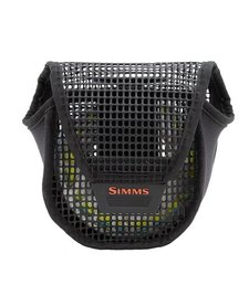 Simms Bounty Hunter Mesh Reel Pouch L Black