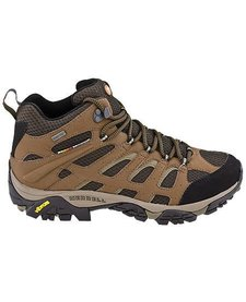 Merrell Mens Moab Mid Waterproof