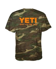 Yeti Mens Built For The Wild SS Tee