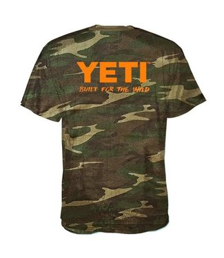 Yeti Yeti Mens Built For The Wild SS Tee