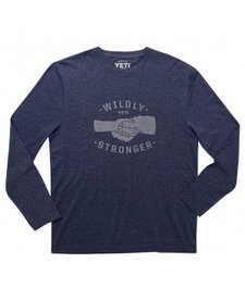Yeti Wildly Stronger Handshake Mock Twist LS Tee