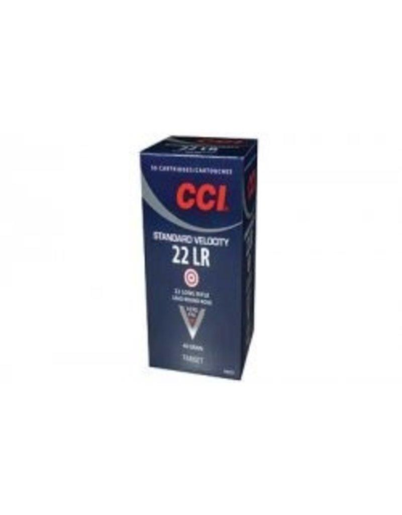 CCI CCI Standard Velocity 22LR 40gr LRN 50rd