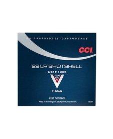 CCI 22LR Shotshell 31gr #12 Shot