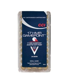 CCI Gamepoint 17 HMR 20gr JSP