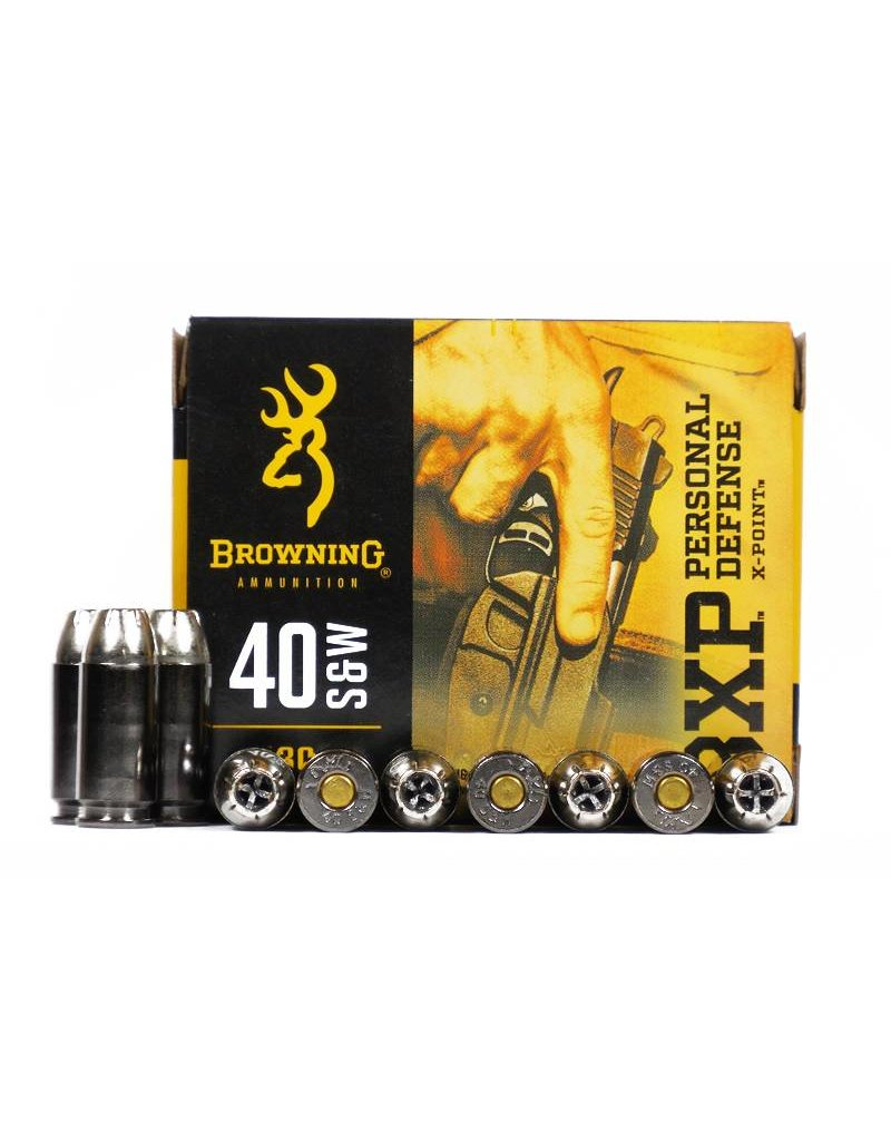 Browning Browning 40 S&W BXP 180gr X-Point