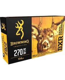Browning 270 Win BXR 134gr