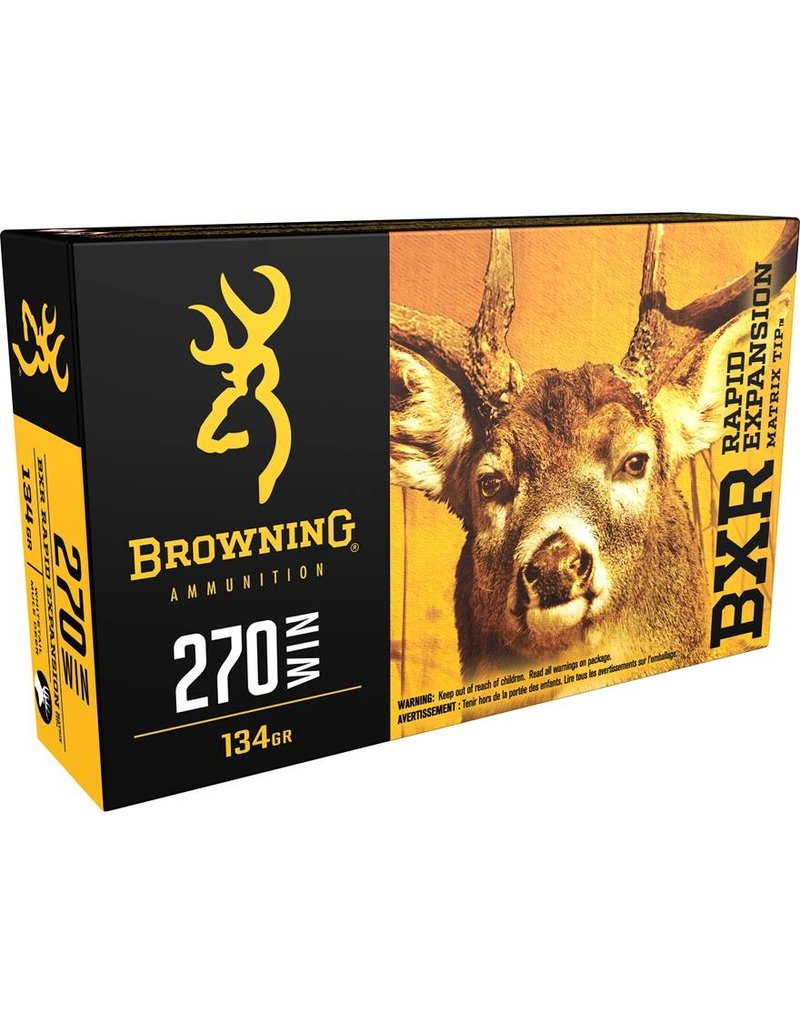 Browning Browning 270 Win BXR 134gr