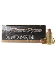 Blazer Brass 380 Auto 95gr FMJ 50rd