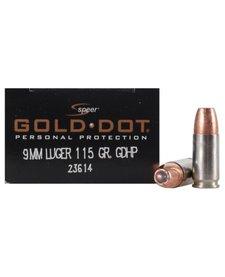 Speer Gold Dot 9mm 115gr GDHP
