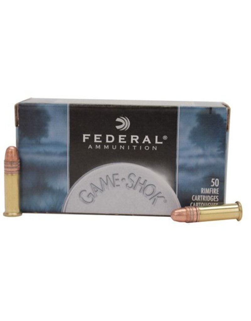 Federal Federal Game-Shok 22LR 40gr Copper-Plated Solid