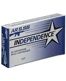 Independence 5.56mm 55gr FMJ 20rd