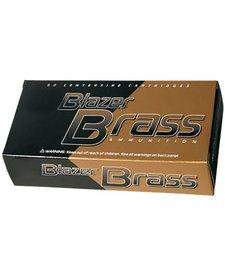 Blazer Brass 40 S&W 180gr FMJ 50rd