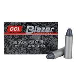 CCI CCI Blazer 38 Spl 158gr LRN 50rd