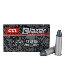 CCI Blazer 38 Spl 158gr LRN 50rd