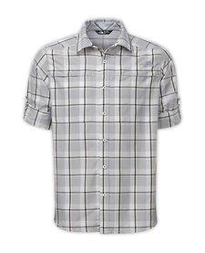 The North Face Mens LS Traverse Plaid Shirt