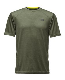 The North Face Mens SHORT-SLEEVE LONGLINE FLASHDRY CREW