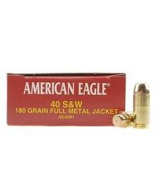 American Eagle 40 S&W 180gr FMJ