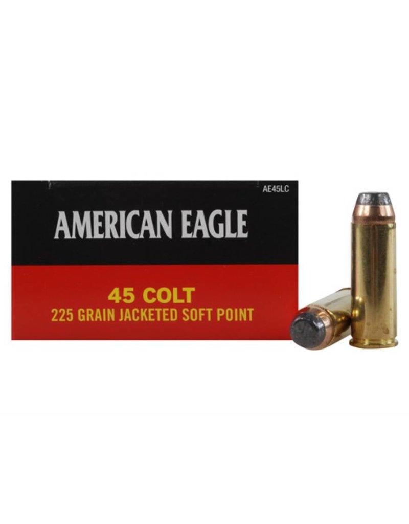 Federal American Eagle 45 Colt 225gr JSP