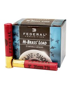 "Federal Hi-Brass Load 410ga 3"" 7.5#"