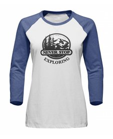 The North Face Womens Sierra Baseball Tee