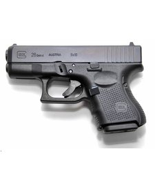 Glock G26 Gen4 9mm Black