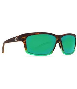 Costa Costa Cut Matte Tortuga Fade/Green Mirror 580P