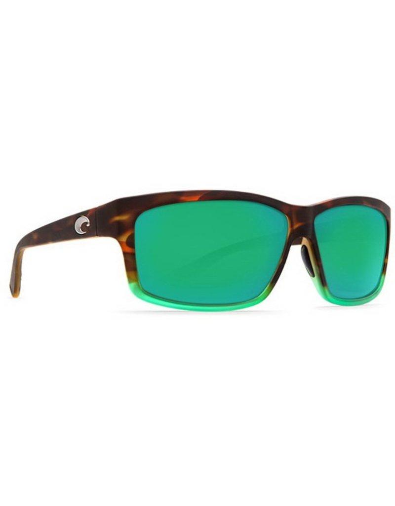 Costa Costa Cut Green Mirror 580P Matte Tortuga Fade Frame