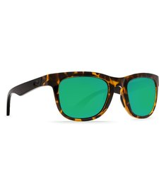 Costa Copra Green Mirror 580P Shiny Retro Tortoise/Cream Salmon