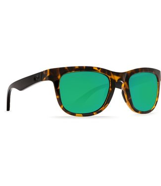 Costa Costa Copra Green Mirror 580P Shiny Retro Tortoise/Cream Salmon
