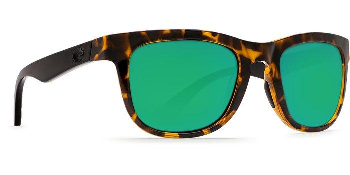 Costa Costa Copra Green Mirror 580P Shiny Retro Tortoise/Cream Salmon