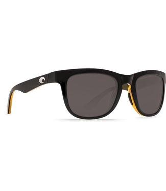 Costa Costa Copra Gray 580P Shiny Black/Amber