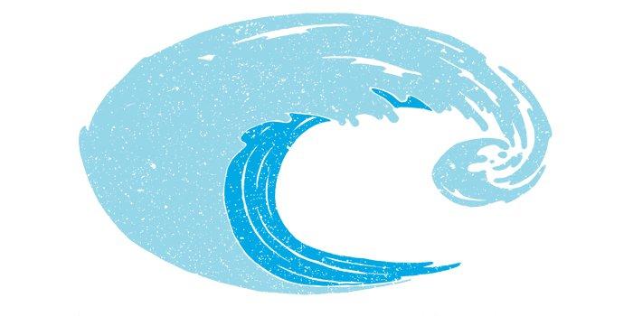 Costa Costa Decal Costa Logo Wave Small