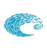 Costa Costa Decal Costa Logo Schoolin Blue Small