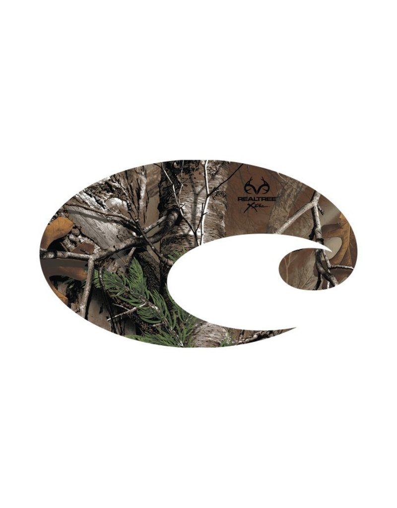 Costa Costa Decal Costa Logo Realtree Xtra Small