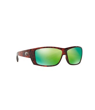 Costa Costa Cat Cay Green Mirror 580P Tortoise