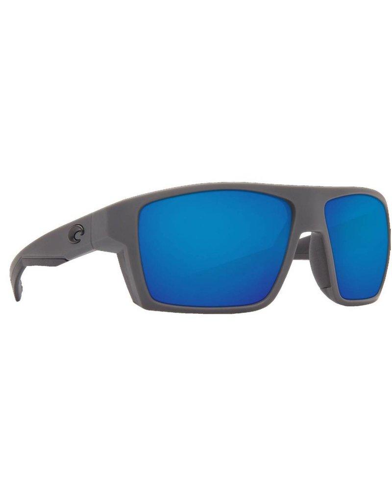 Costa Costa Bloke 580G Matte Black Matte Gray Frame / Blue Mirror