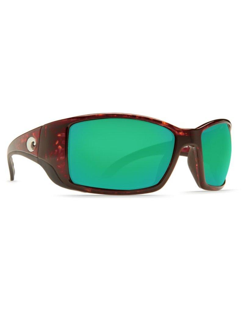 Costa Costa Blackfin Green Mirror 580P Tortoise Frame