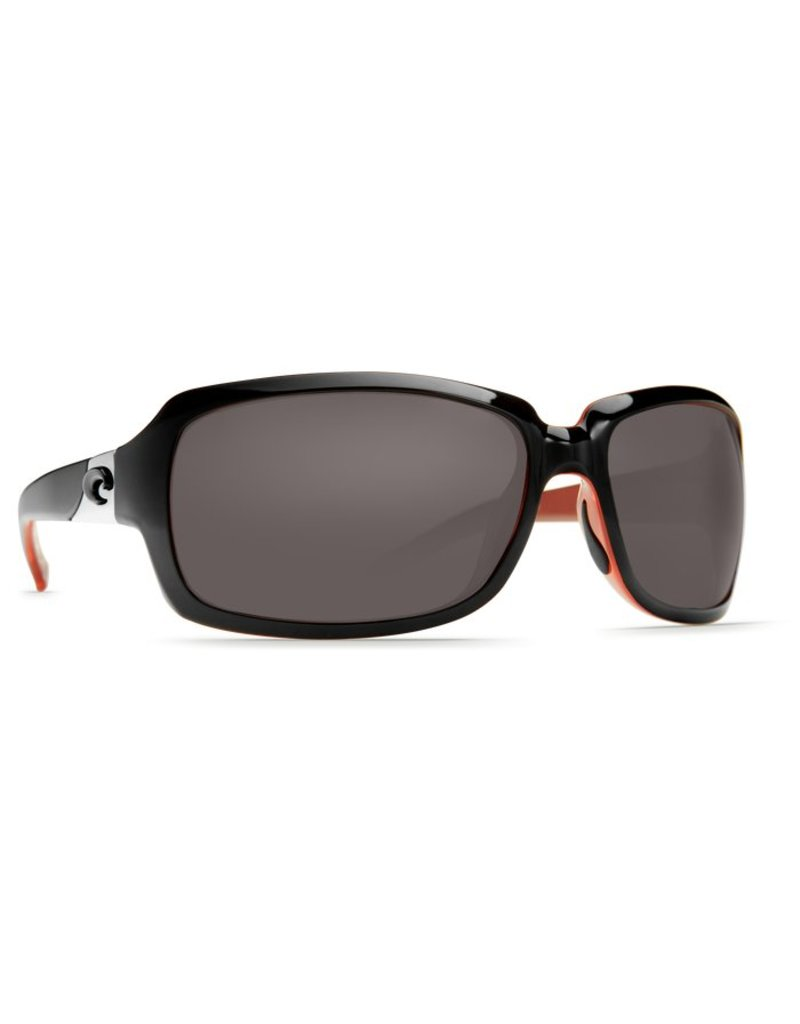 Costa Costa Isabela Gray 580P Black/Coral Frame