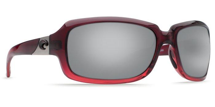 Costa Costa Isabela Silver Mirror 580P Pomegranate Fade Frame