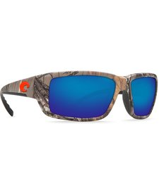 Costa Fantail   Blue Mirror Glass - W580 Realtree Xtra Camo Frame