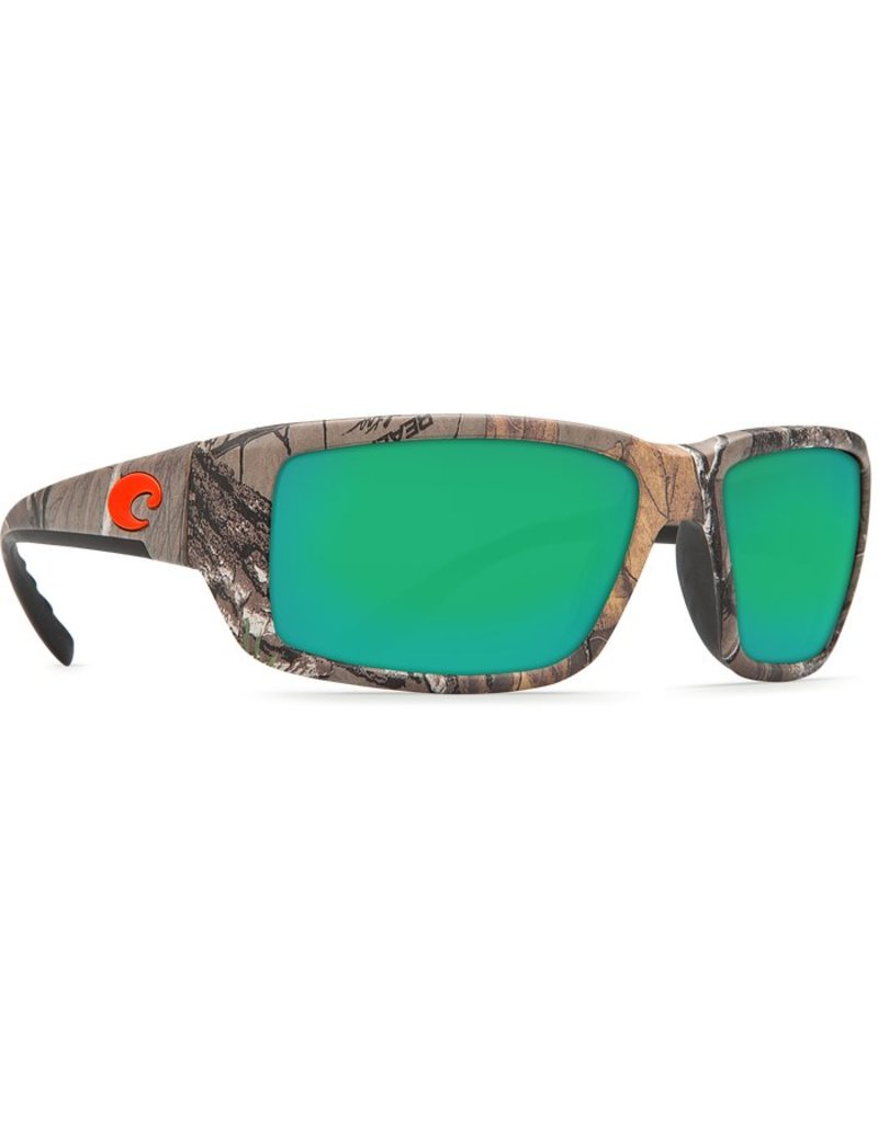 Costa Costa Fantail Green Mirror 580P Realtree Xtra Camo Frame