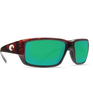 Costa Costa Fantail Green Mirror Glass - W580 Tortoise Frame