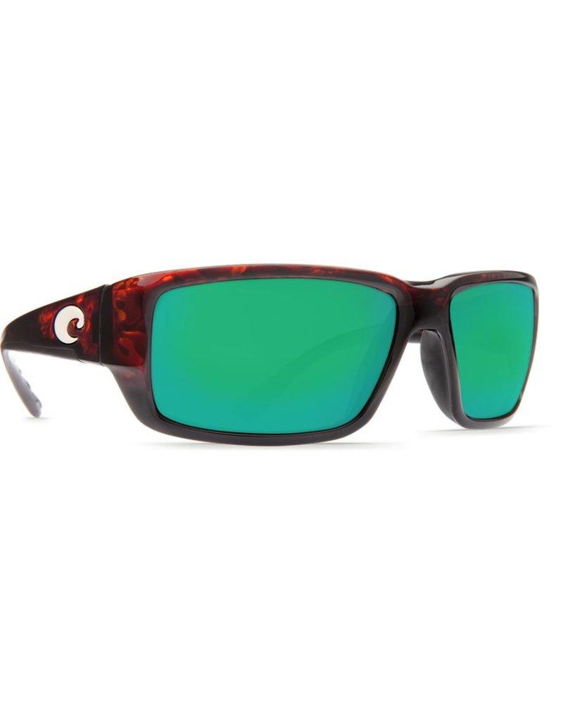 Costa Costa Fantail Green Mirror Glass - W580 Tortoise Frame