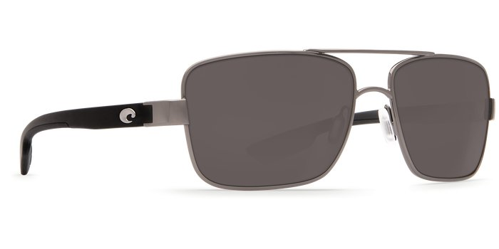 Costa Costa North Turn 580P Gunmetal/Matte Black Frame / Gray