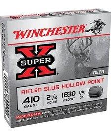 "Winchester Super-X 410ga 2.5"" Rifled Slug HP"