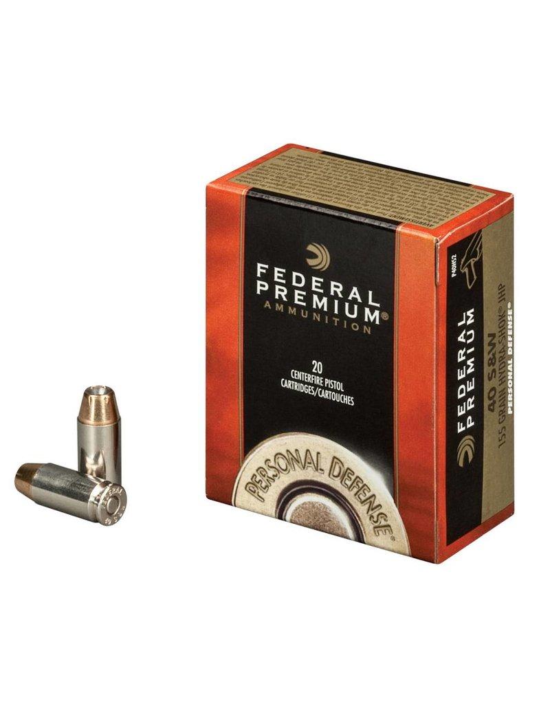 Federal Federal Premium Personal Defense 40 S&W 180gr Hydra-Shok JHP