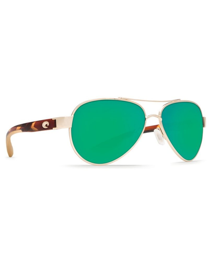 Costa Costa Loreto 580P Rose Gold Frame / Green Mirror